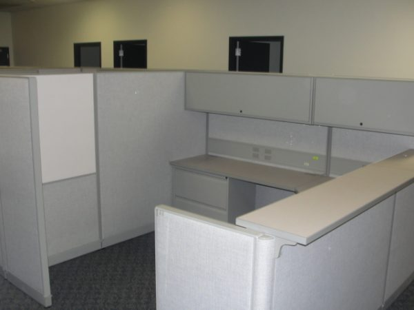 Used Cubicles by Trendway,  8X8 and 67″ tall, Light Gray, Philadelphia, Pennsylvania