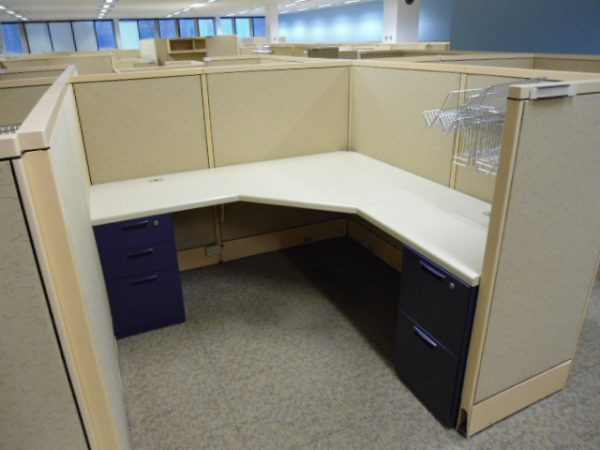 Used Steelcase Avenir Cubicles, 6 x 6, Tampa, Florida