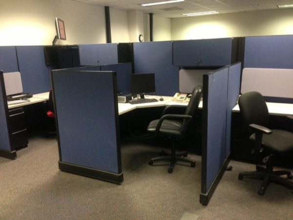 Used Herman Miller AO2 Cubicles in Atlanta