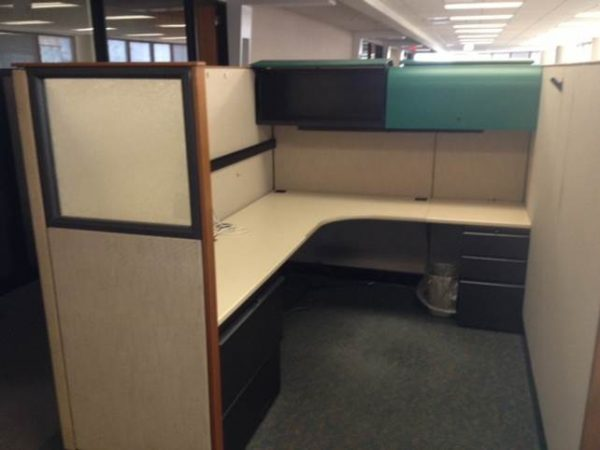 Used Knoll Morrison 6×8 cubicles