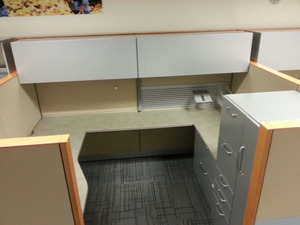 Steelcase Answer Cubicles, 8X6