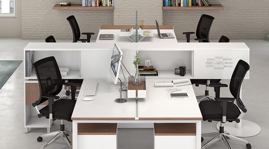Friant Benching Cubicles